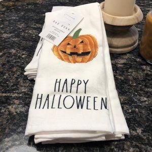 Rae Dunn Pumpkin 🎃 Hans Towels